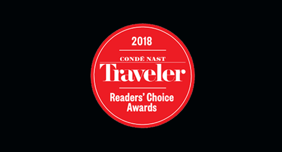 Conde Nast Traveler Best Awards 2018